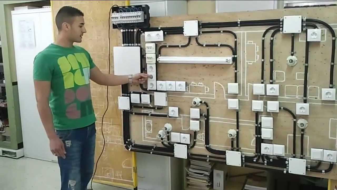 Instalaci n el ctrica en vivienda realizada por el alumno - Instalacion de electricidad ...