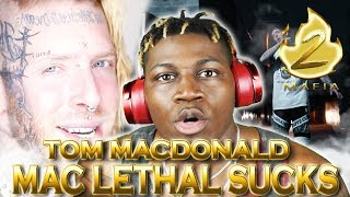 Tom MacDonald - Mac Lethal Sucks (GAME OVER) 2LM Reaction