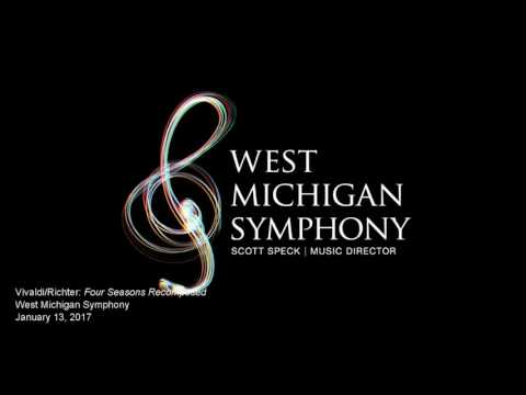 Vivaldi/Richter - Four Seasons Recomposed - Tim Fain, violin and West Michigan Symphony