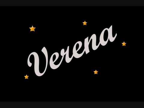 Verena -ein witziges gedicht über meinen Namen =)