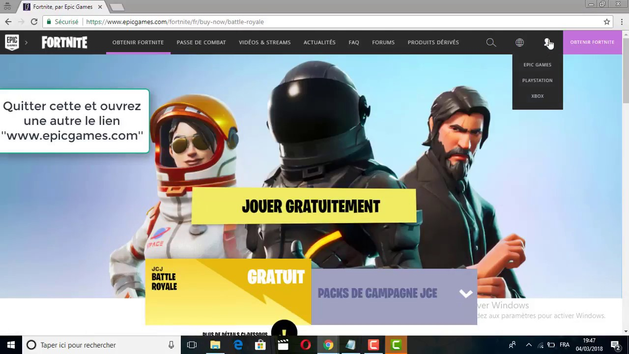Fortnite : How to link epic games account to psn account ...