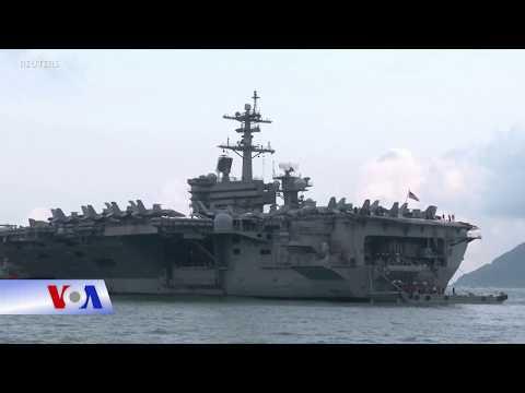 Hải quân Mỹ: Tàu USS Rossevelt có thể 'phơi nhiễm' Covid ở Đà Nẵng (VOA)