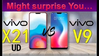 Vivo X21 UD vs Vivo V9 - Might Surprise You! -------------------- V...