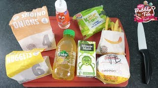 [ MENUS KIDS ] Mon pire Burger King ! Déception totale ! :( - Studio Bubble Tea Food