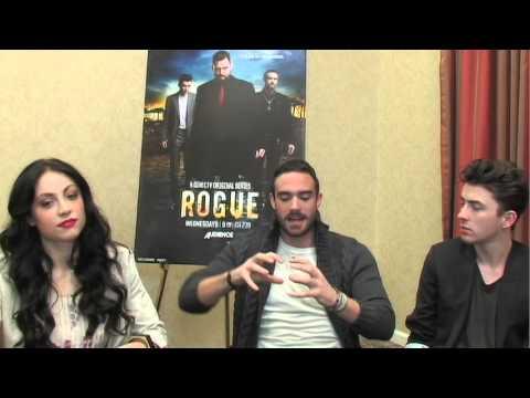 Rogue   with Joshua Sasse, Leah Gibson, and Matthew Beard