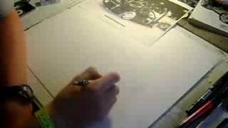 Chrysler 300c drawing pt. 1