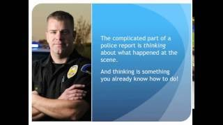 Writing Better Police Reports: Building Your Brainpower