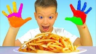 Download Руки Мыть Нужно Каждый День - Детские песни - Макс и Песни для детей Mp3 and Videos