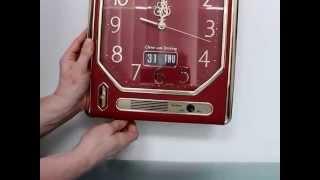 Citizen Rare Dealers Display Clock Vintage Whittington Chime Japann