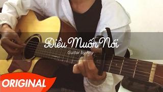 Rhy - Điều Muốn Nói - Guitar Version [Live]