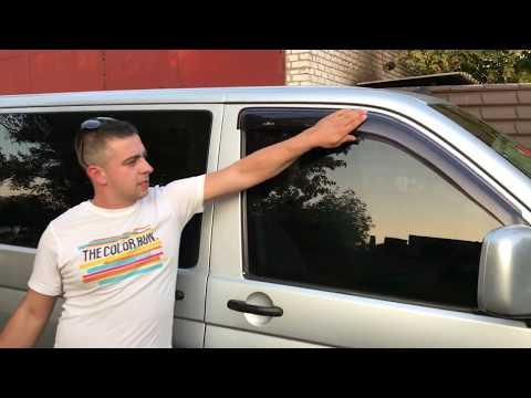 Отзыв на ветровики Volkswagen Transporter T5 бренда HIC