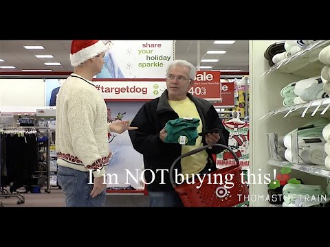 MAKING PEOPLE BUY MY CHRISTMAS PRESENTS!