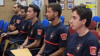 Apertura del curso para 10 nuevos miembros de la plantilla de Bomberos de Almería