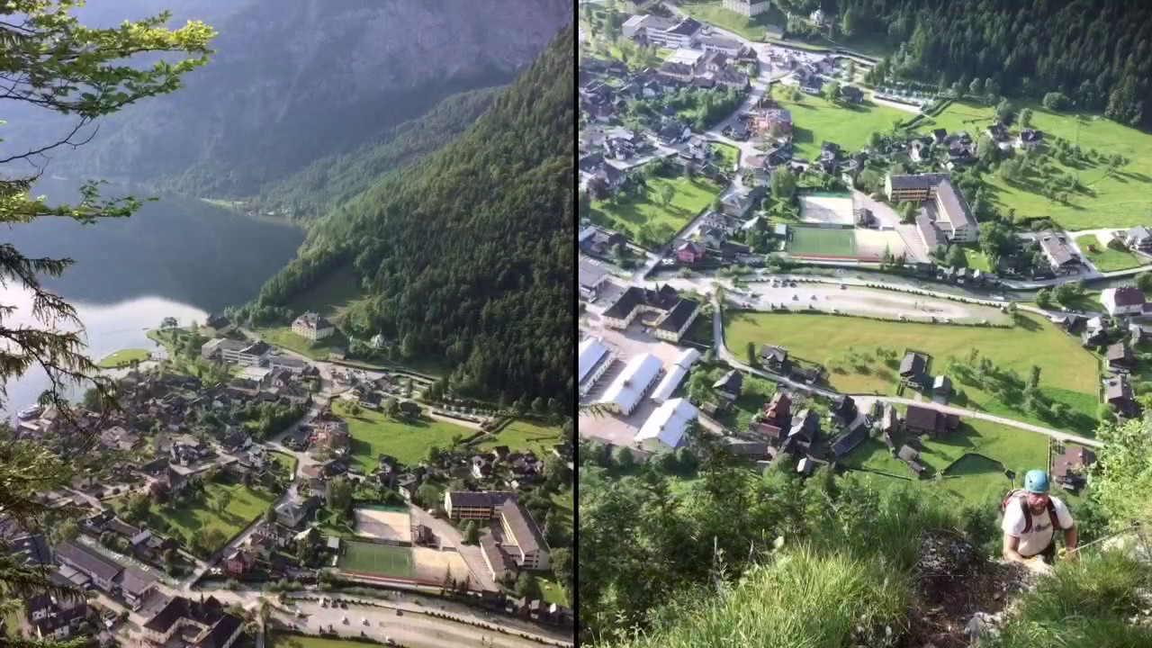 Klettersteig Hallstatt : Hallstatt echernwand klettersteig youtube