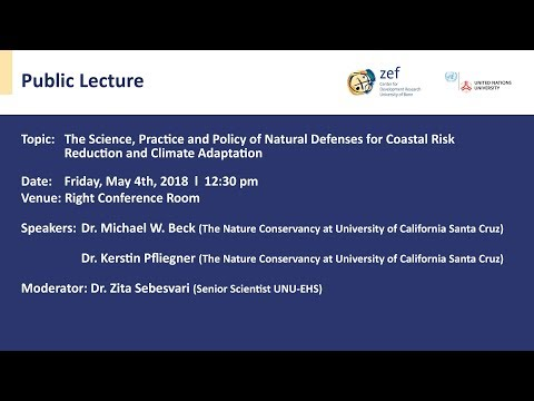 The Science, Practice and Policy of Natural Defenses for Coastal Risk Reduction