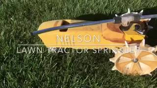 How to fix the gears in a Nelson Lawn Tractor Traveling Sprinkler.
