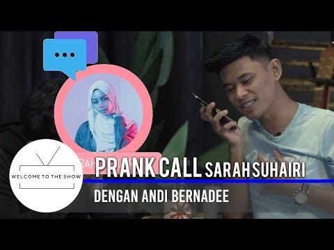 #WTTSMY | Andi Bernadee prank call Sarah Suhairi!