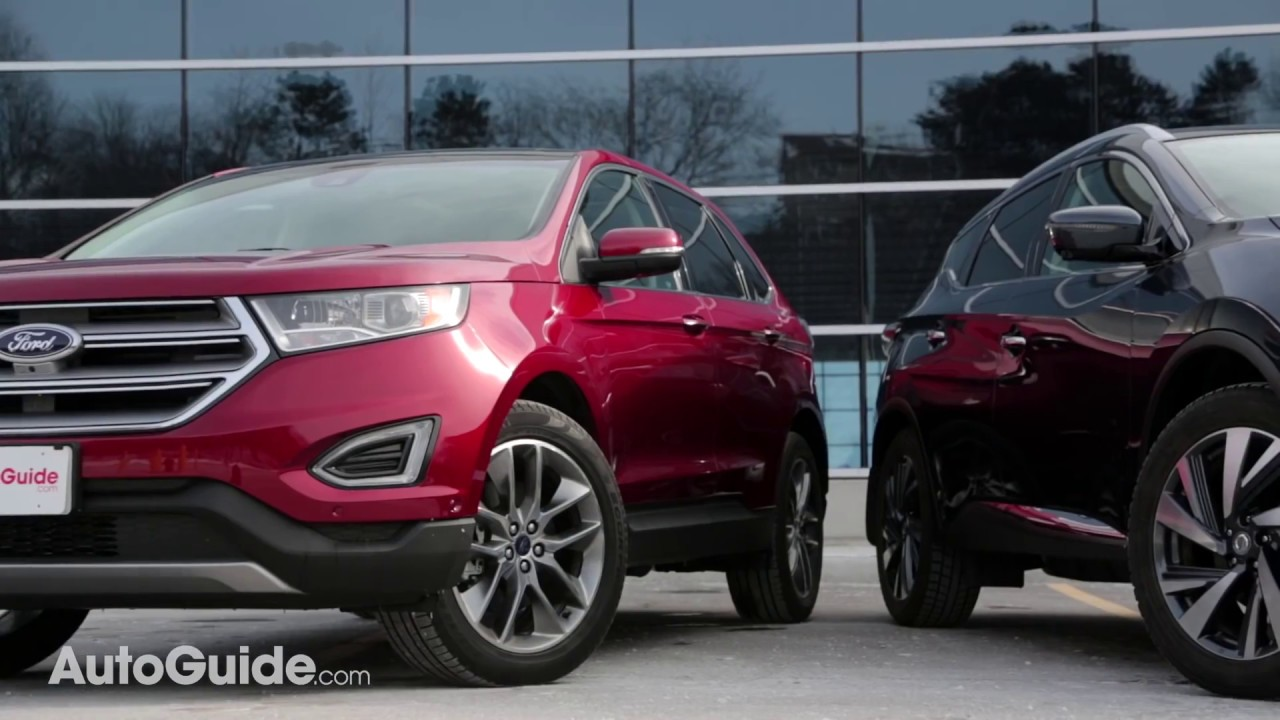 Ford edge vs nissan murano
