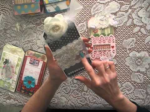 14 Styles Of Handmade INTERACTIVE Tags For Scrapbooking