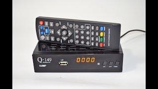 Скучать не позволит! Тюнер Т2 Q-SAT Q-149 IPTV + универсальный пульт  (настройка, обзор)