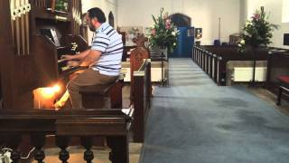 Romeo and Juliette theme by Nino Rota on Church / Chamber organ.  - MichaelCarter4Music