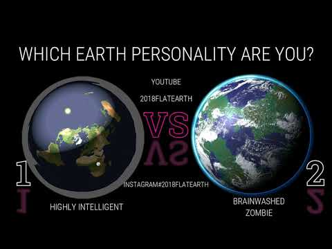 FLAT EARTH / WHICH EARTH PERSONALITY ARE YOU? 1 OR 2? thumbnail