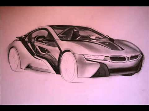 Drawing Bmw I8 Youtube