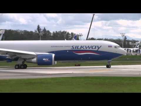 Azerbaijan Cargo 767 Taxi Test