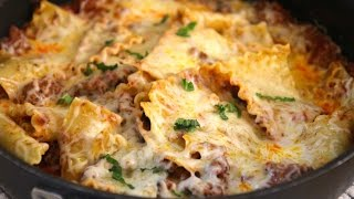 Skillet Lasagna - Cooked by Julie episode 269