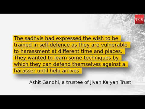 Gujarat: Self-defence moves to help sadhvis tackle harassment