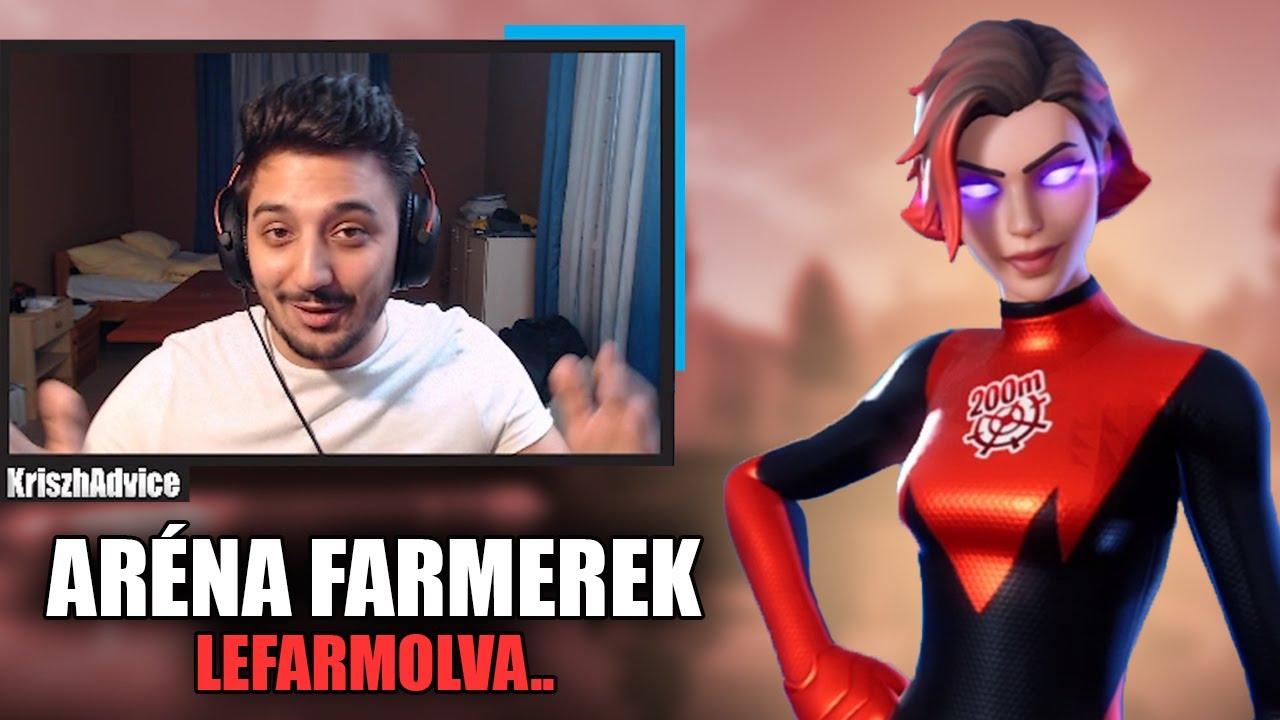 ARÉNA FARMEREK..LEFARMOLVA | TRIO ARENA (Fortnite Battle Royale)