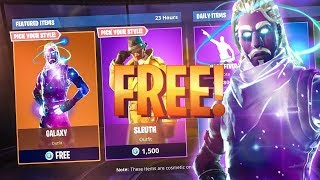 FREE Fortnite Skins 2018 / Galaxy & Skull Trooper FREE Skins