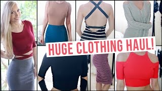 Fall Clothing Haul 2015 TRY ON ★ Forever 21, Boohoo, ASOS + More!