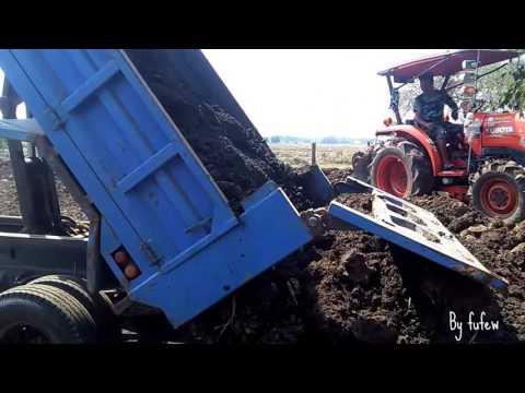 รถดั้มหกล้อ รถบรรทุก เทดิน ถมที่ 6 wheel Dump Truck