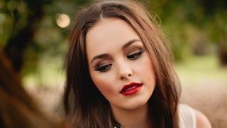 ❀Осенний макияж/Красивый яркий макияж❀