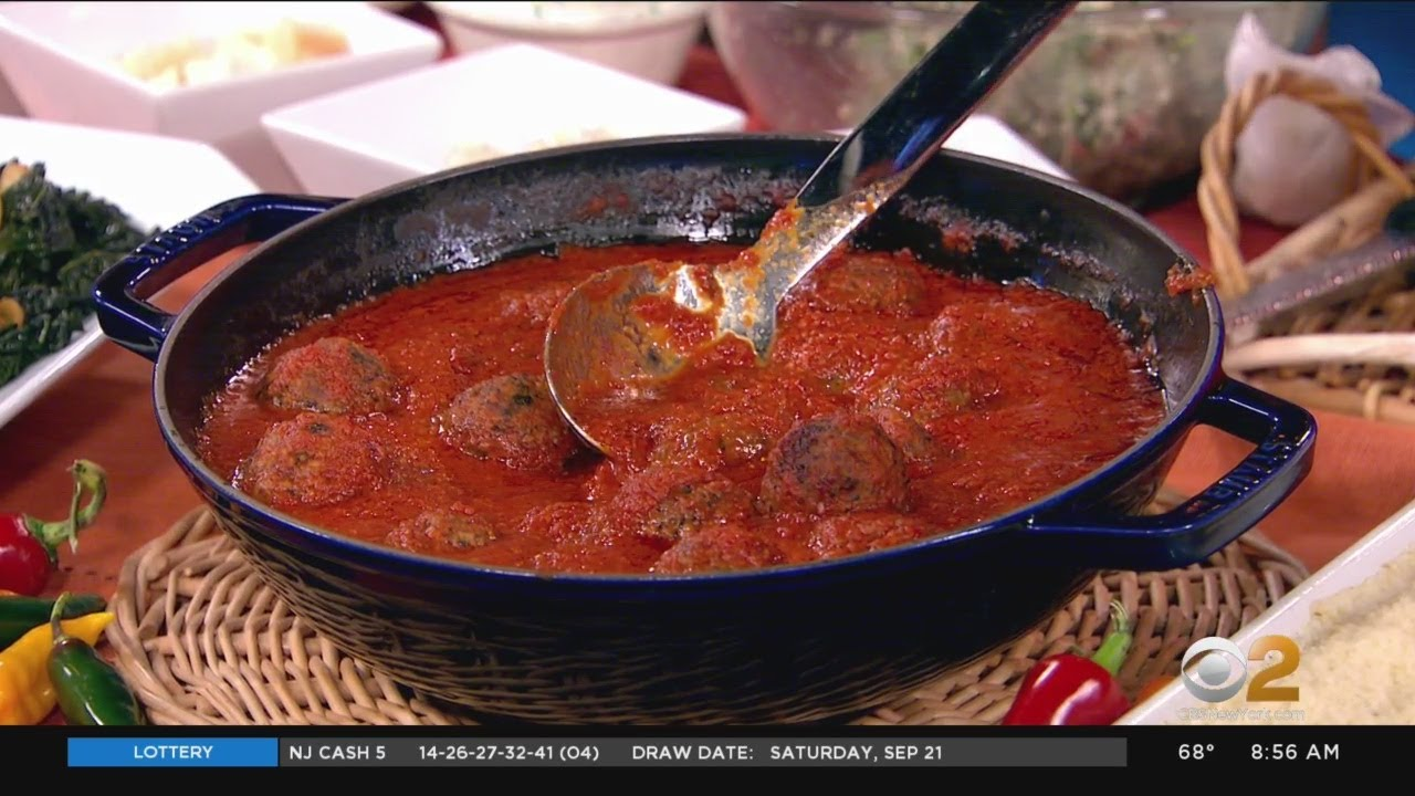 Cooking Segment: Il Posto Accanto's Italian Meatballs