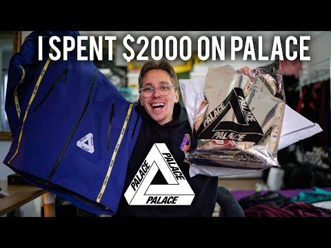 UNBOXING $2000 WORTH OF PALACE