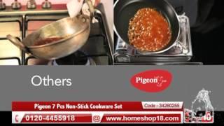 Homeshop18.com - Pigeon 7 Pcs Non-Stick Cookware Set