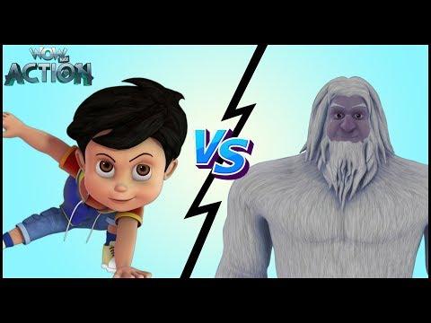 Vir: The Robot Boy | Hindi Cartoons for kids | Vir Vs Yeti | WowKidz Action thumbnail