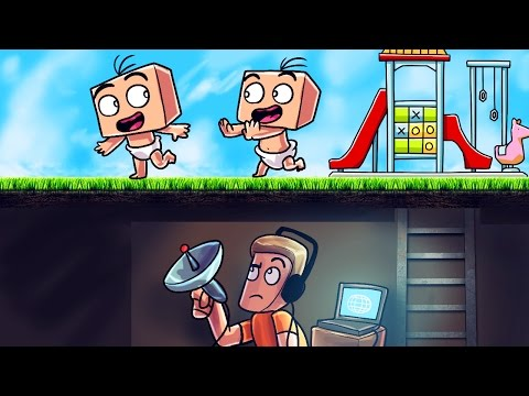 Minecraft | Who's Your Daddy? Secret Spy Base! (What Does the Baby Do Alone?)