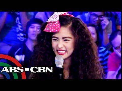 Vice Ganda meets 'Sandy Veloso'