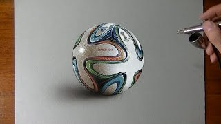 Drawing the Word Cup Ball ⚽🏆