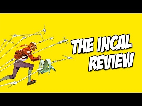 Graphic Novel Review - The Incal