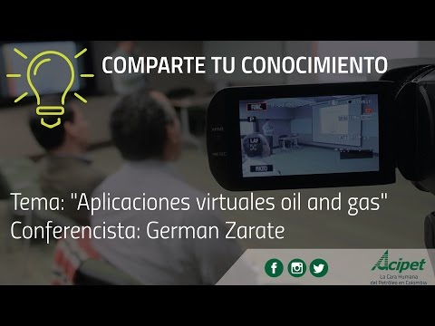 #ComparteTuConocimiento - Aplicaciones Virtuales Oil and Gas