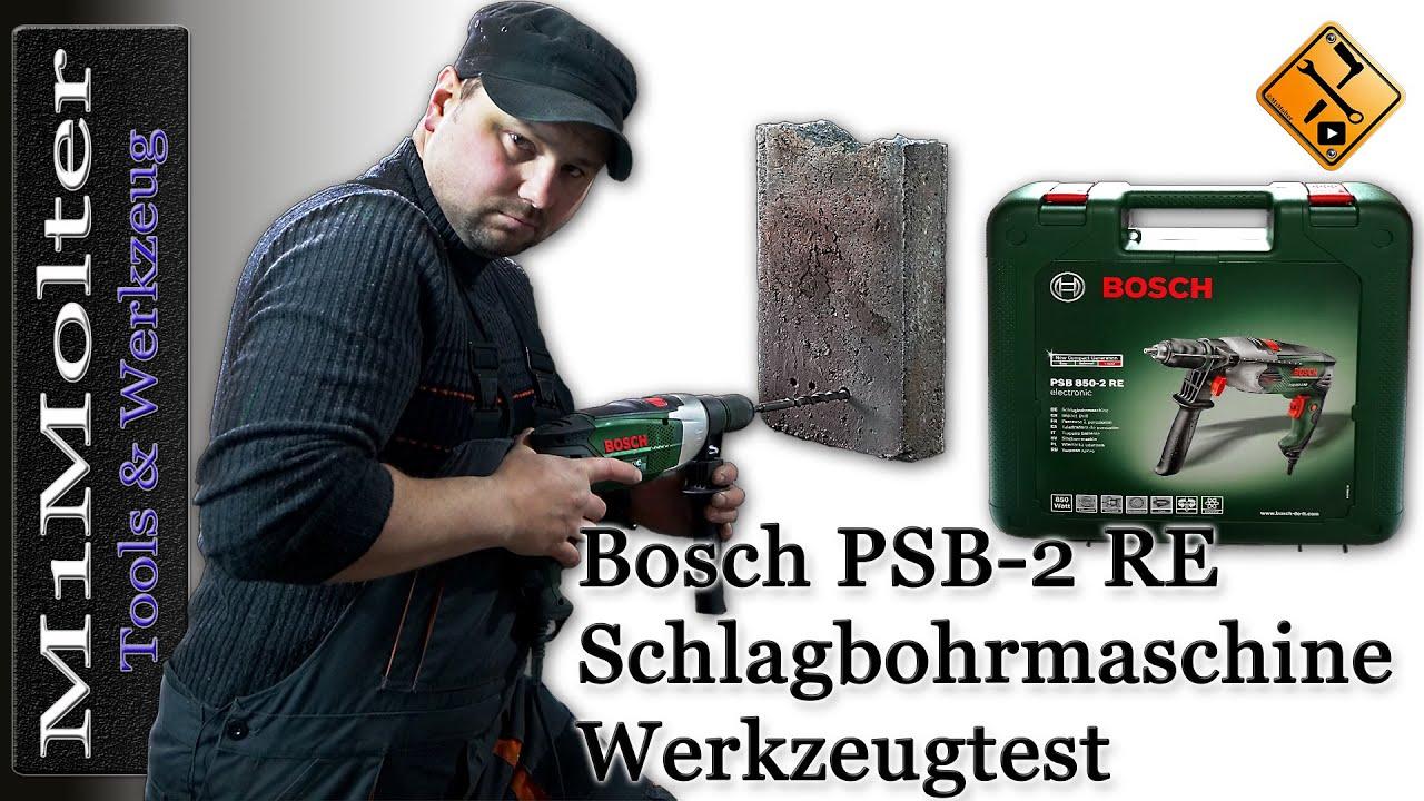 bosch psb 850 2 re test von m1molter youtube. Black Bedroom Furniture Sets. Home Design Ideas