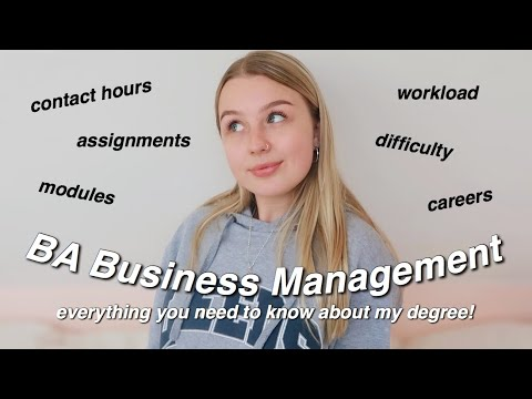 BUSINESS MANAGEMENT Q&A | All About My Degree! AD