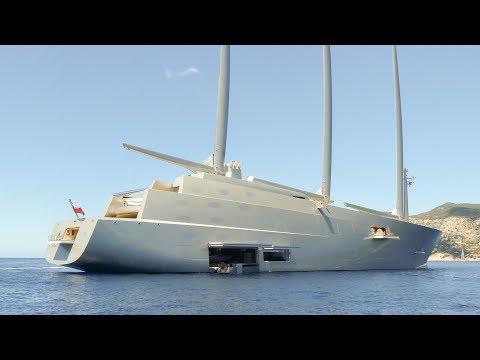 El velero más grande del mundo navega en aguas de Ibiza y Formentera