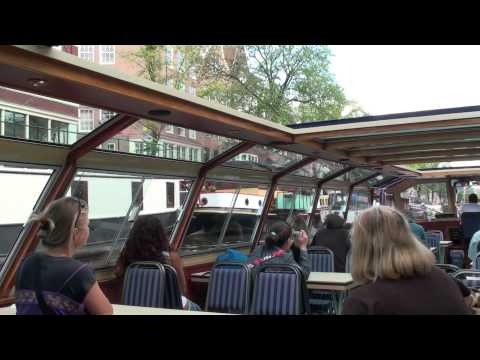 Amsterdam Vacation Video - Canal Boat Tour