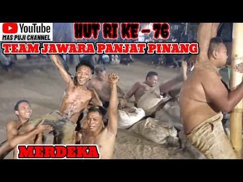 PANJAT PINANG 2021 PALING LUCU || YANG BAWAH SUPER JUMBO || SANG JAWARA HUT RI 76