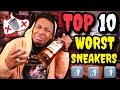 TOP 10 WORST SNEAKERS OF 2018!!! TRIGGER WARNING ⚠️  DO NOT BUY THESE!
